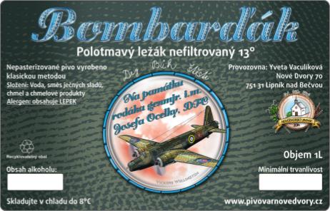 Bombarďák etiketa